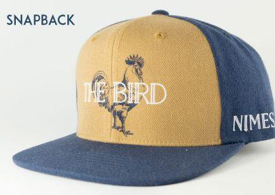 Ateliercasquette-snapback-thebird